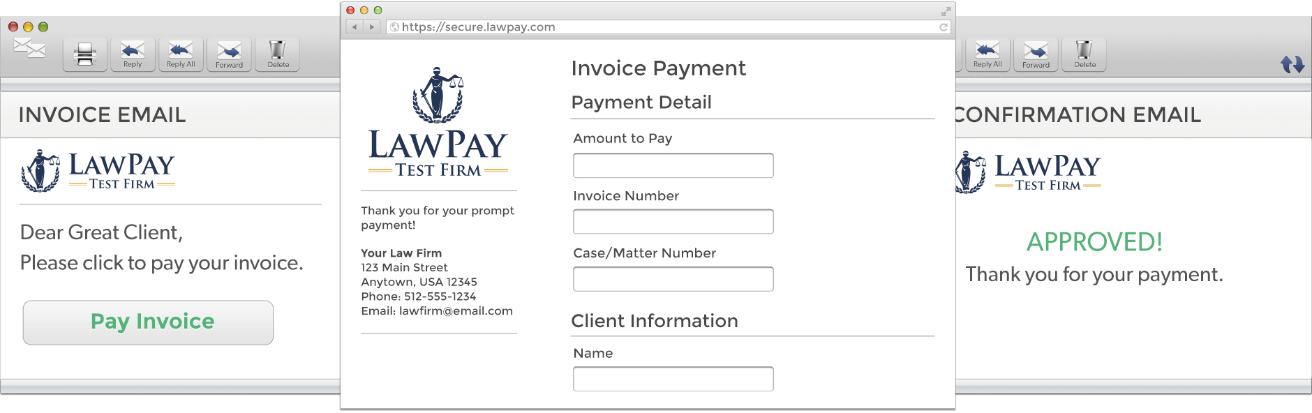 Trust Your Transactions to LawPay