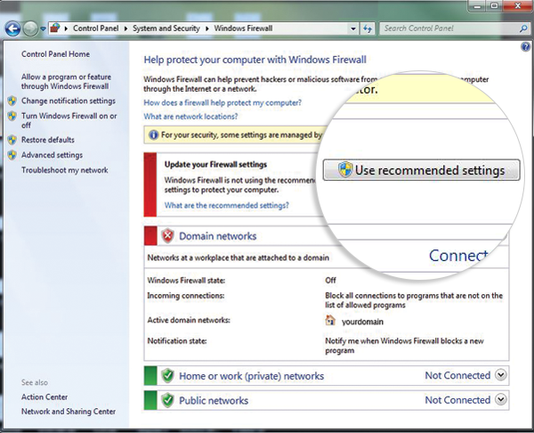 firewall-recommendedsettings